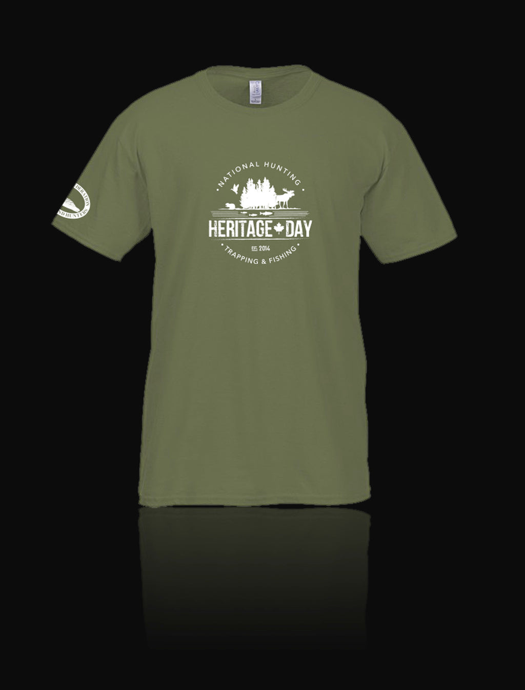 Heritage Day t-shirt - green (small only)