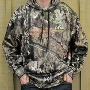 OFAH Authentic Mossy Oak® Hoodie - size LARGE