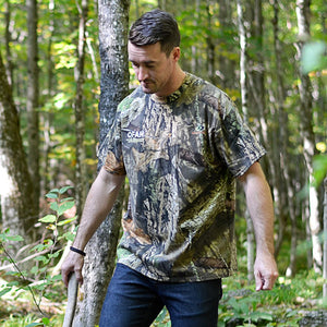 Short sleeved Mossy Oak® camo t-shirt - size XL