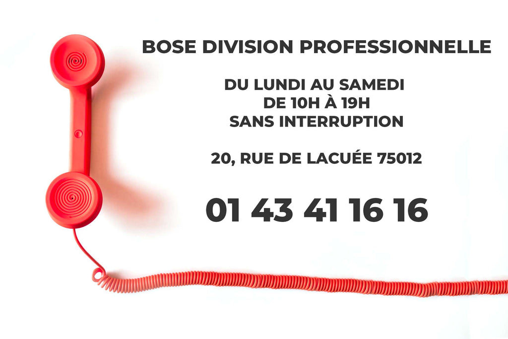 Bose professionnel France