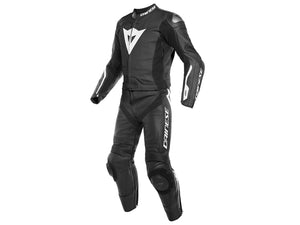 Fato Dainese Avro D-Air 2 PCS Suit  Black/Black/White