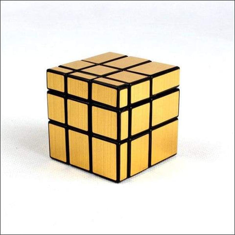 Cube couleur or