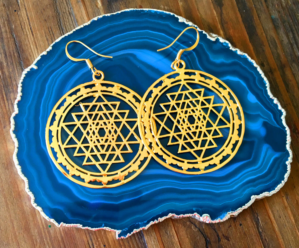 Sri Yanta Earrings