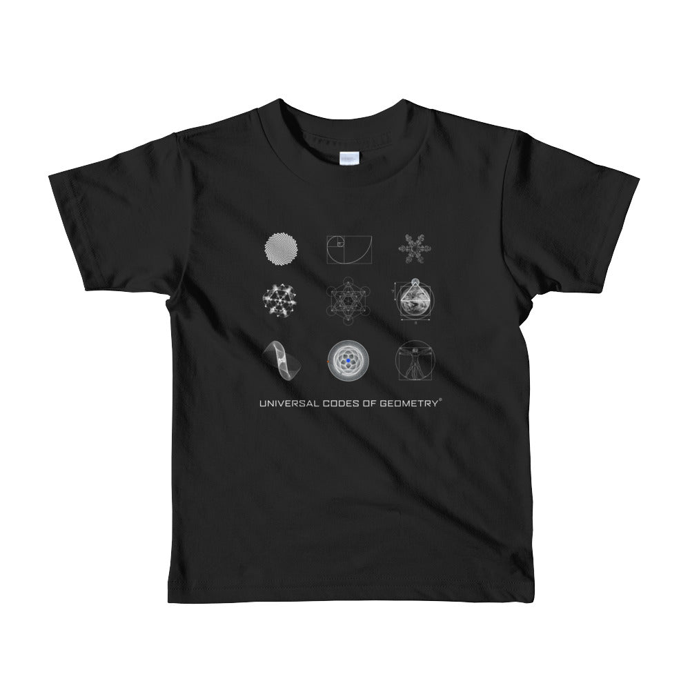 Universal Codes of Geometry kids t-shirt