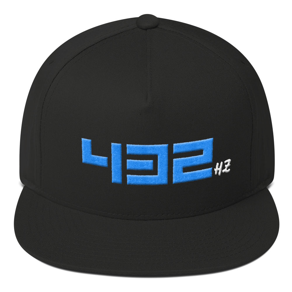 432HZ Flat Bill Cap