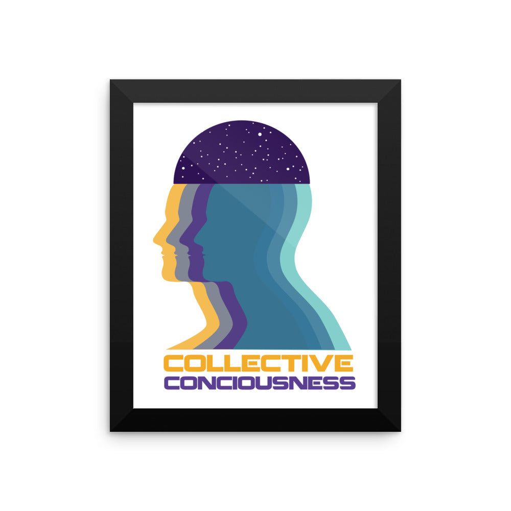 Collective Consciousness Framed poster