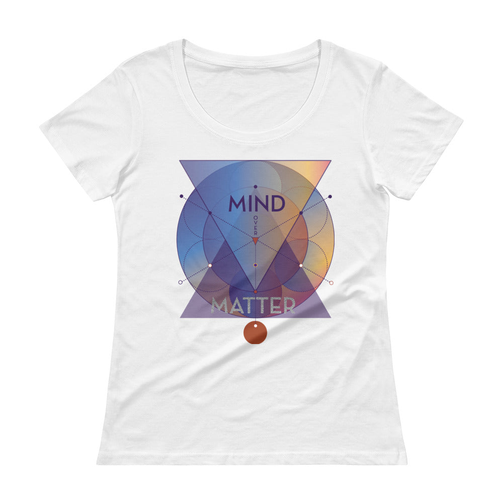 Mind over Matter Scoop neck T-Shirt
