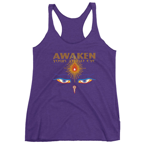 Awaken Your Third Eye Racerback Tank