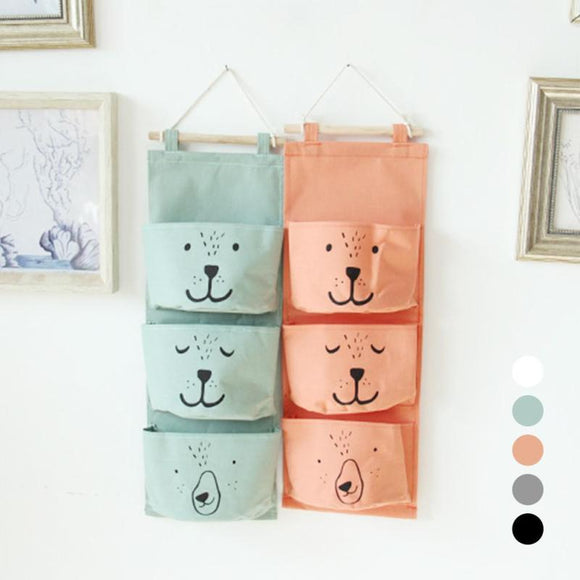 Wall Hanging Storage Bags for Children Room - Storage Mood