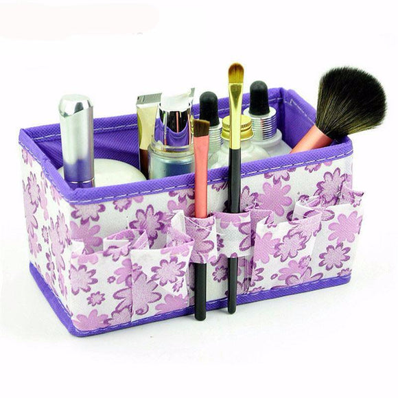 Large Foldable Make up Storage Box - Storage Mood