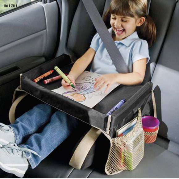 Car Seat Waterproof Table Tray for Kids - Storage Mood