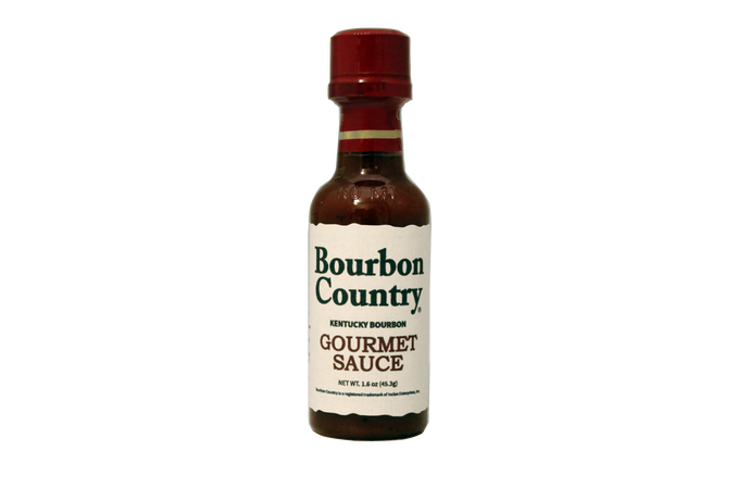 Bourbon Country Gourmet Sauce 2oz
