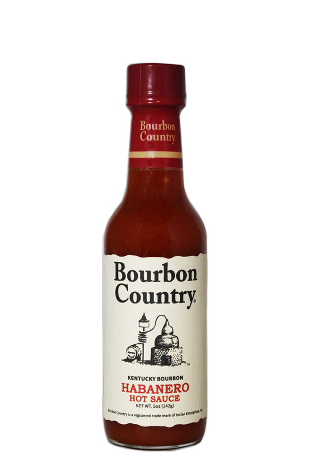 Bourbon Country Habanero Hot Sauce