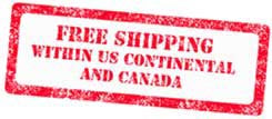 Free Shipping Within The Continental USA and Canada