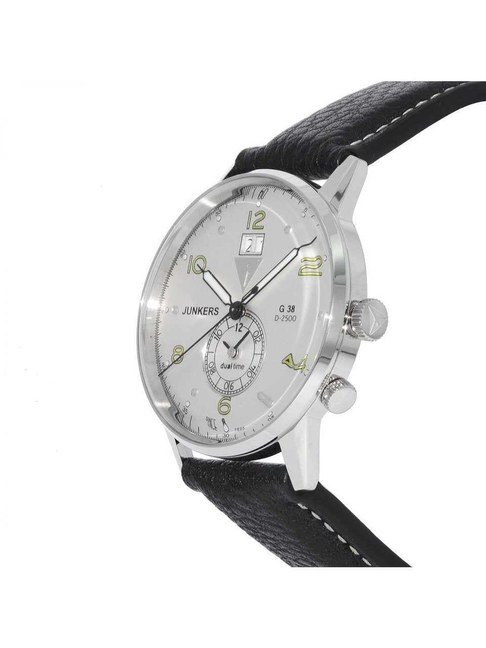 Junkers  6940-4 Dual time GMT watch G38
