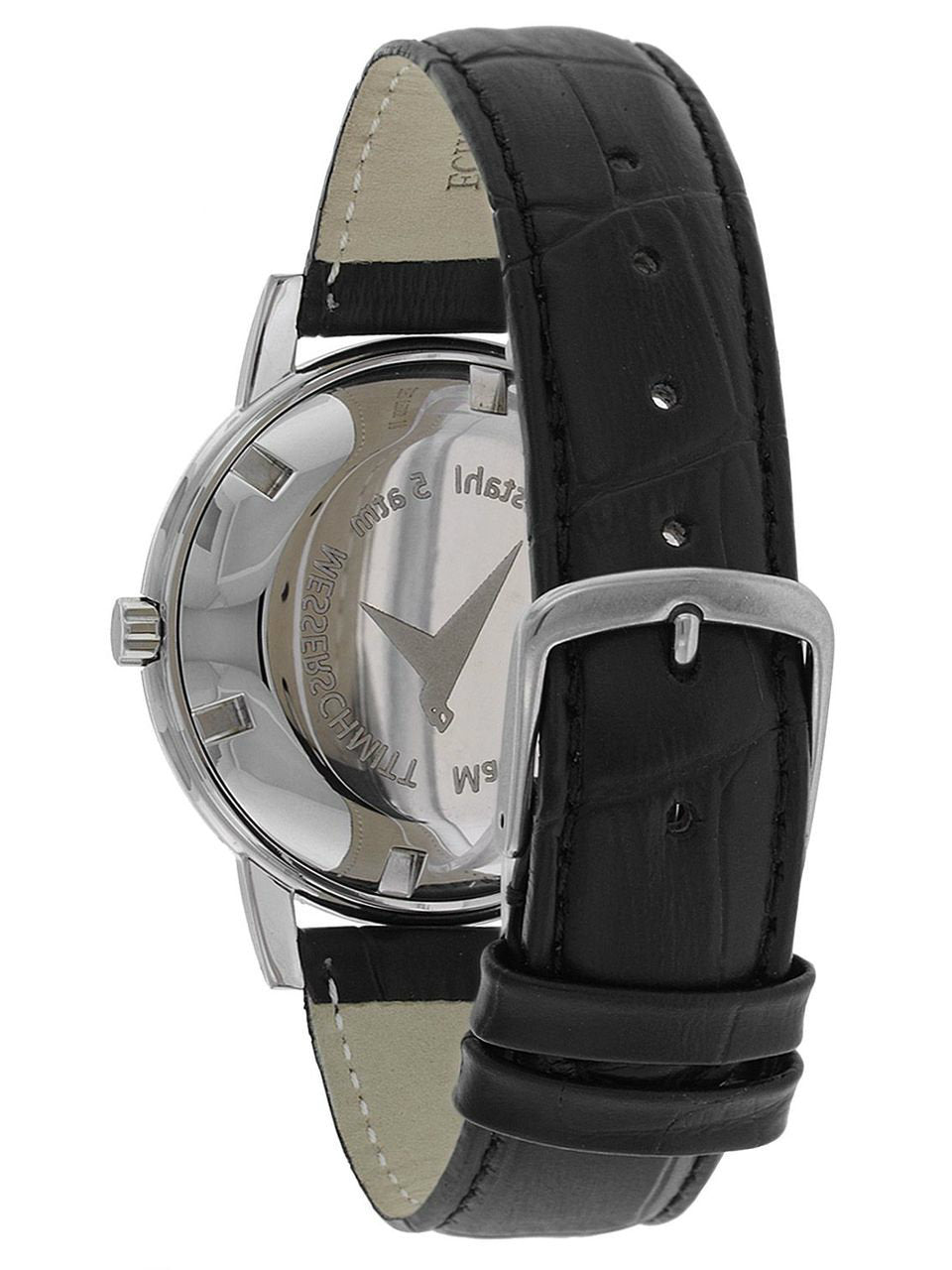 Messerschmitt Radiant Black Dial Special Edition Quartz Dress Watch KR200-AS