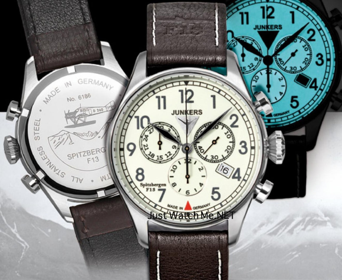 Junkers  F-13 Chronograph  6186-5 Spitzbergen