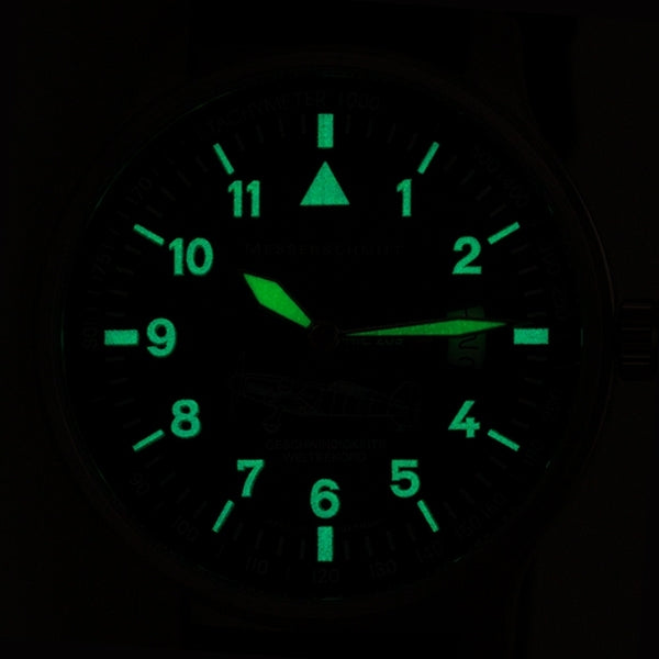 Messerschmitt ME-209 Series Swiss Quartz Watch