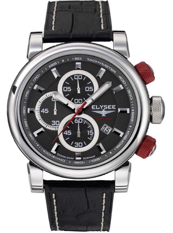 Elysee Pit Lane 38002  Chronograph  48mm  Watch