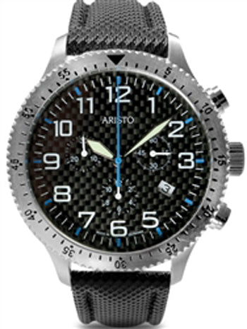 Aristo 7H106BN Chronograph Carbon Trophy