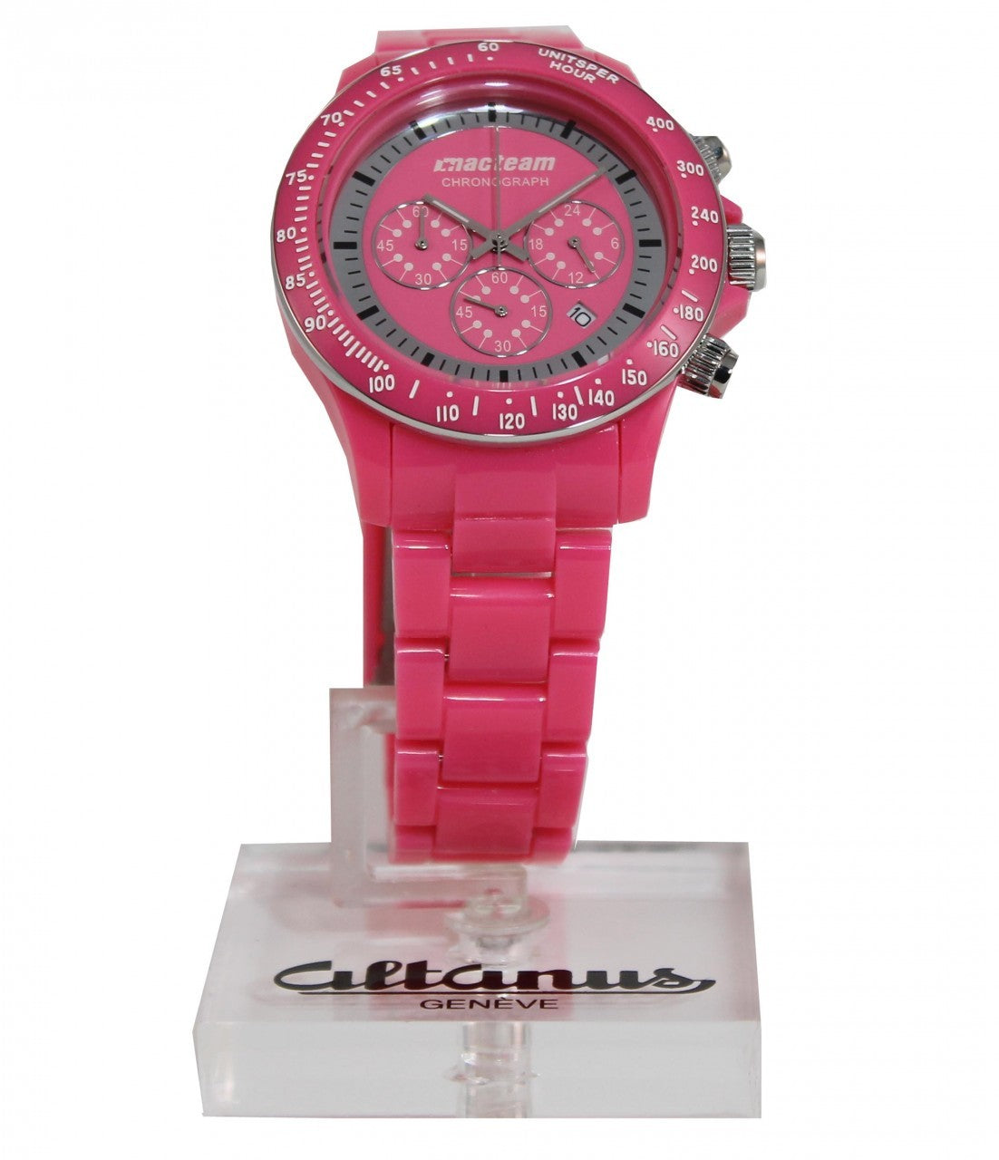 Macteam Chronograph  PINK 7910