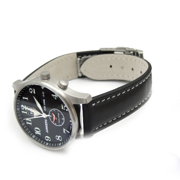 Junkers  6640-2  Dual time GMT  watch -Iron Annie JU52