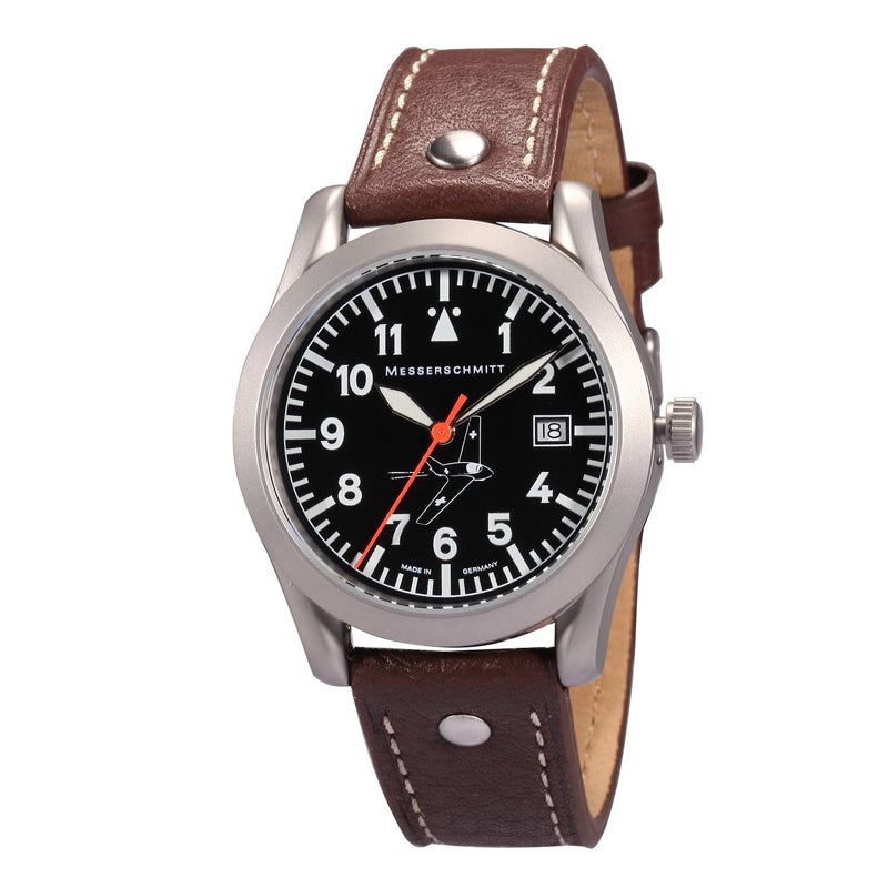 Messerschmitt Aviator Quartz Watch ME 163-40