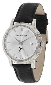 Messerschmitt Radiant Silver Dial Special Edition Quartz Dress Watch KR200-SS
