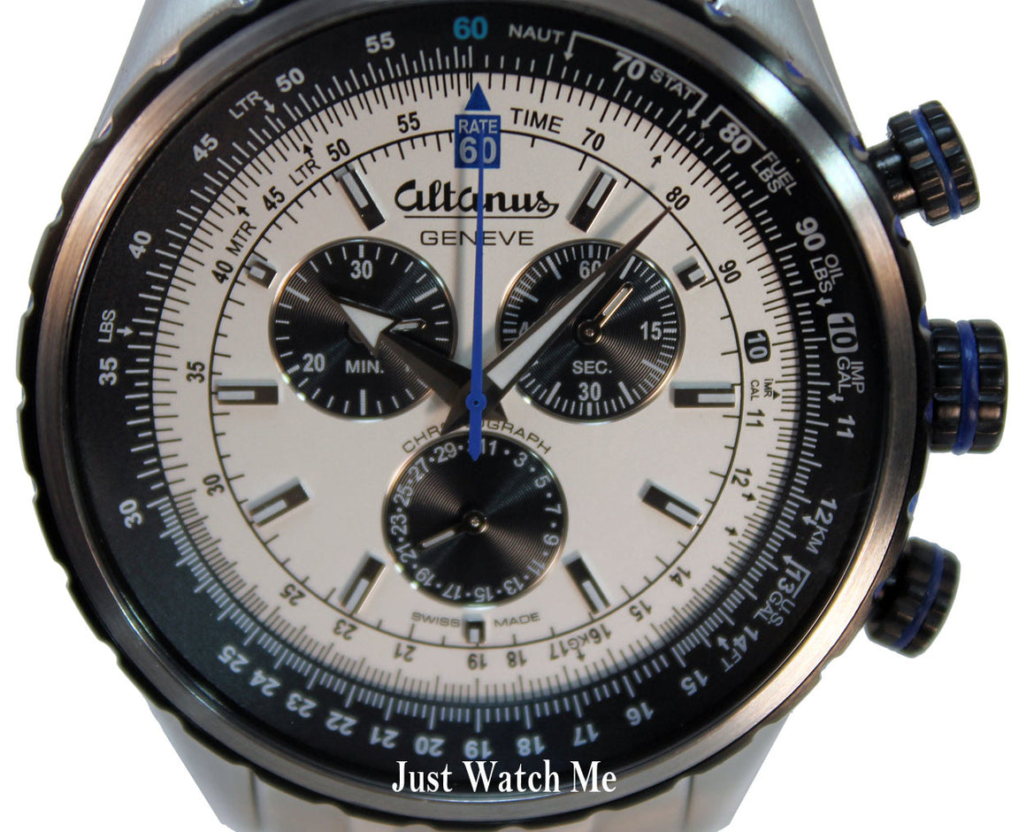 Altanus Elite Chrono Sport Watch 7916B - Swiss made