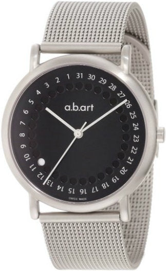 a.b.art KLD102B -  Men's Stainless Steel Swiss Quartz Watch Series KLD