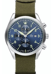 Laco 861919 Atlanta Blue Dial Chronograph Watch