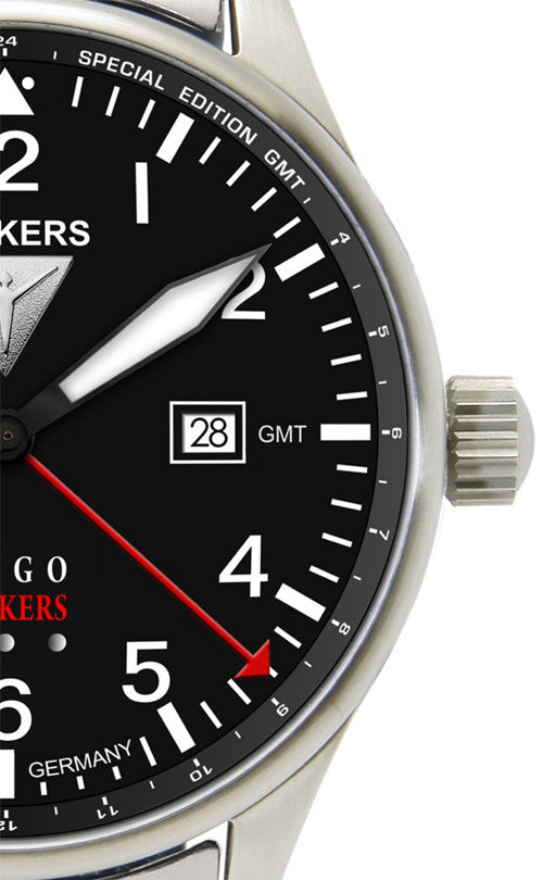 Junkers  6644M-2   GMT - Dual Time Hugo Junkers Series