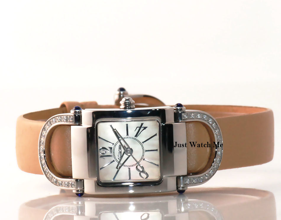Altanus  Kelly -  Beige Elegant  Watch-Cubic Zirconia