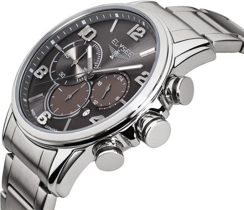 Elysee Pathos 24102 Chronograph Stainless Steel Watch