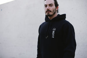 Load image into Gallery viewer, UNISEX CIRCLE DROP HOODIE