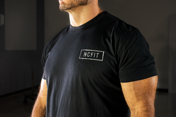 Mens NCFIT Camo Badge Tee