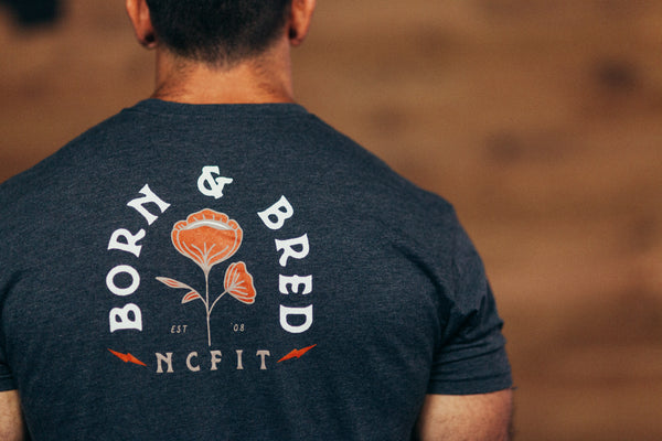 MENS BORN & BRED TEE