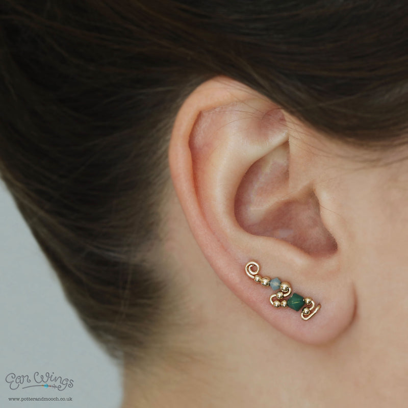 Ear Wings 'Hope' 14ct Yellow Gold
