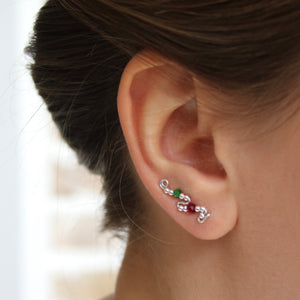 Ear Wings 'Holly' 925 Sterling Silver