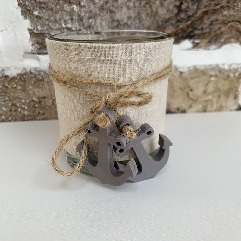 Tealight Holder with Anchors