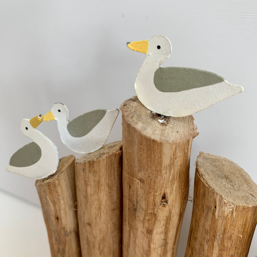 Seagulls on Groyne - Small