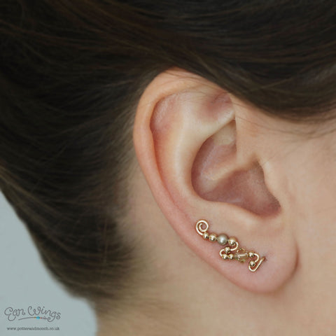 Ear Wings 'Joy' 14ct Yellow Gold