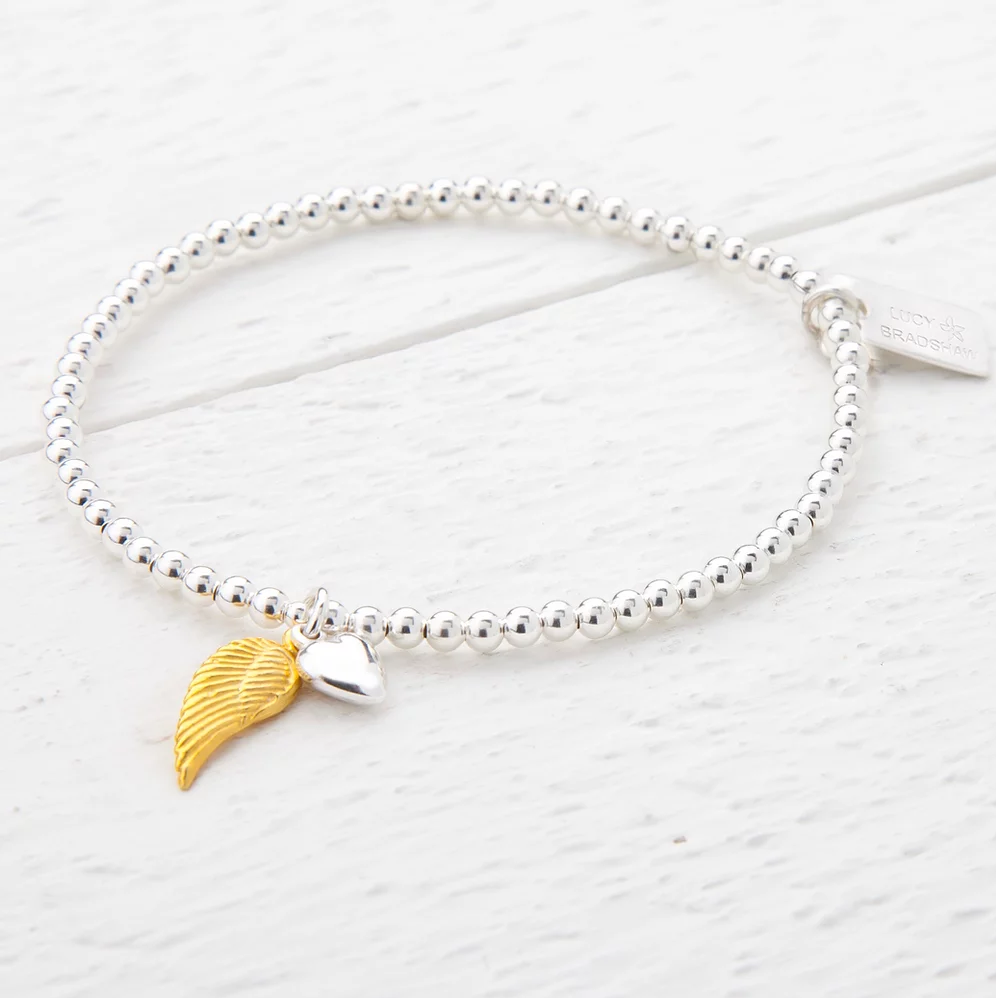 Serena Sterling Silver and Yellow Gold Bracelet