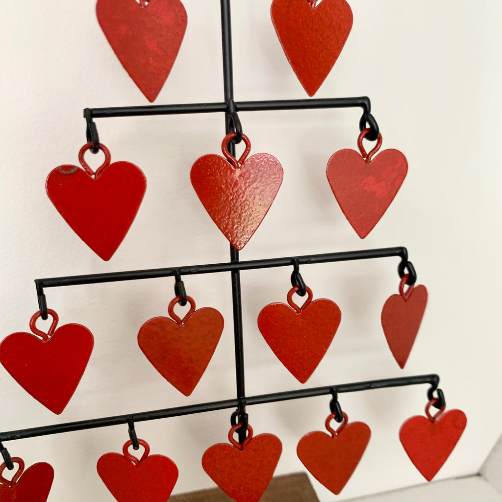 Christmas Heart Tree