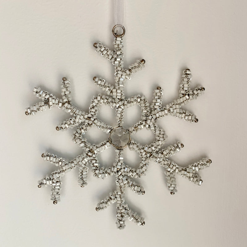 Ice Crystal Snowflake