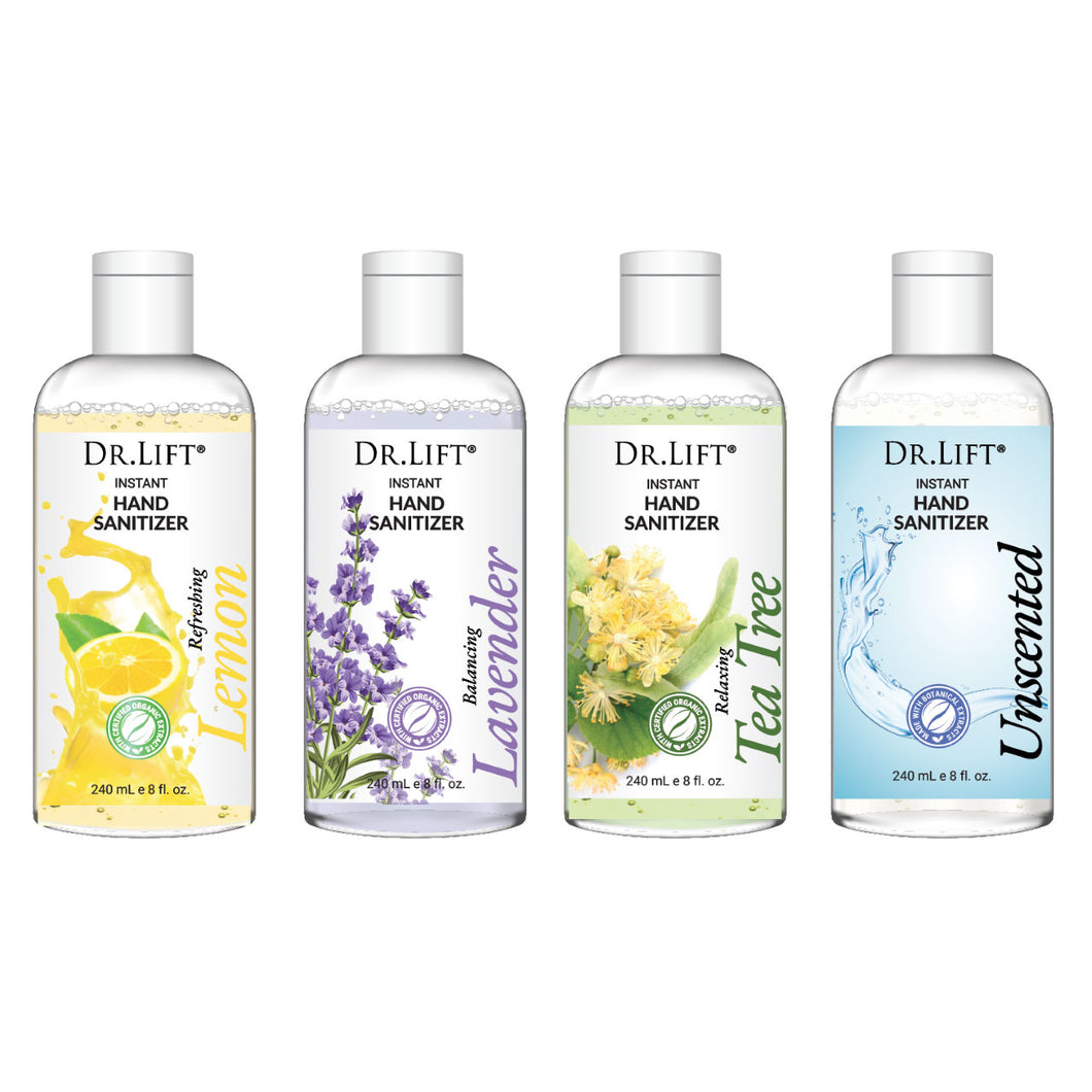 Dr. Lift Hand Sanitizer - 4 Pcs Assorted