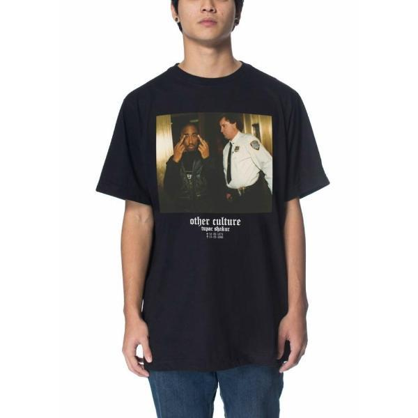 Camiseta Other Culture 2Pac Preta