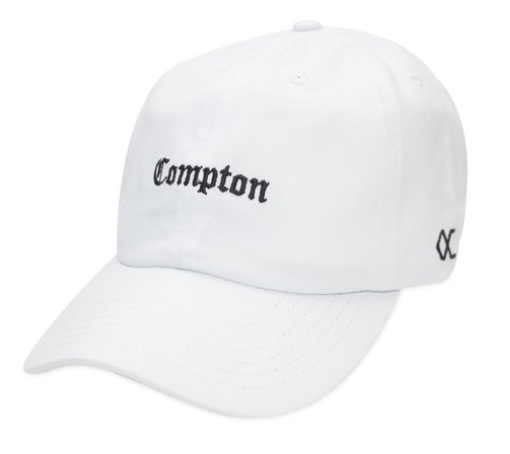 Boné Other Culture Aba Curva Dad Hat Compton Branco