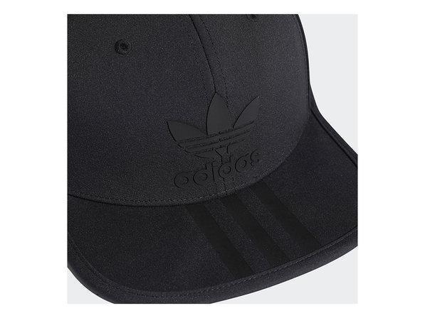 Boné Adidas Originals 3 Stripes Snapback Preto
