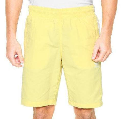 Short Adidas Originals 3-Stripes Swim Amarelo